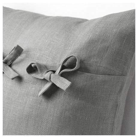 Чехол на подушку АЙНА серый фото 2