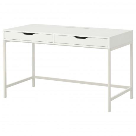 Письменный стол АЛЕКС белый фото 3